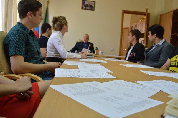 Молодёжный совет встретился с главой муниципалитета